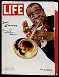 Life Magazine featuring Louis Armstrong