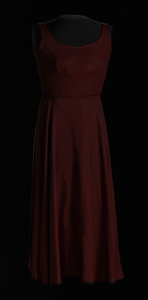 Costume dress for Lady in Red from for colored girls... on Broadway