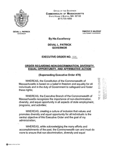 Executive Order (new series) No. 526