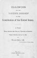 Illinois and the thirteenth amendment to the constitution of the United States; a paper read before the Chicago Historical Society, January 15, 1884
