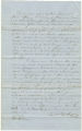 Bill of sale from James D. Cooke to Georgiana Williams for Negro servant named Jacob Mitchell, dated March 30, 1859