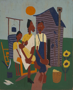 Farm Family--Nursing Child