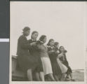 Students Reading Together, Ibaraki, Japan, ca.1948-1952