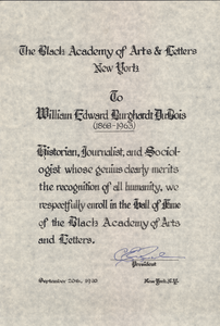 Black Academy of Arts & Letters award