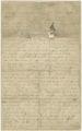 James Robison Castle letter dated Jan. 23, 1861