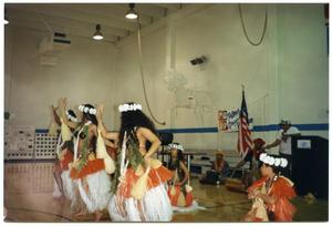 [Hula Dancers Performing During 1994 Salute to Youth Award Program] San Antonio Chapter of Links Records