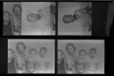 Set of negatives by Clinton Wright of copy negatives, 1970