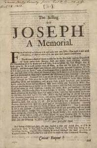 Selling of Joseph: A Memorial