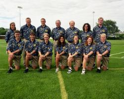 Athletic Medicine Staff, UM Football, 1996/97