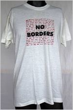 No Borders [t-shirt], circa 1980s
