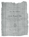 Program for sixteenth annual session of the Iowa State Federation of Colored Women's Clubs, May 21-23, 1917