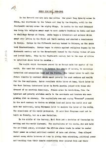 Negro history, 800-1961