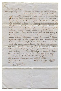 [Agreement for E.M. Pease's purchase of slave named Maria from Clinton Terry]