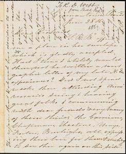 Letter from Sarah Pugh, Germantown, Penn[sylvani]a, to Richard Davis Webb, [1869] June 28th