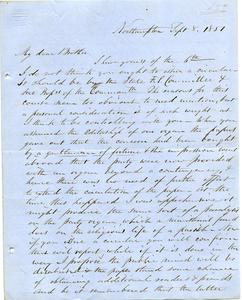 Letter from Samuel Fowler Lyman to Joseph Lyman