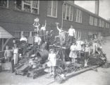 Salvage scrap drive in Nashville and Middle Tennessee region, 1942