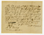 Thumbnail for Slave deed from Robert Glass to William Harrison, Jr., Williamson County, Tennessee, 1848 April 22