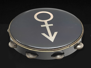 Thumbnail for Tambourine used on stage at Wembley Stadium during Prince's Nude Tour