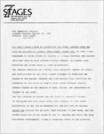 """John O'Neal's """"You Can't Judge a Book By Looking at the Cover: Sayings from the Life and Writings of Junebug Jabbo Jones,"""" press releases announcing the performances at 7 Stages Theatre, Atlanta, Georgia, January 17 - 20 December 5 - 8, 1985"""