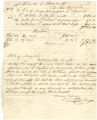 Bill of accounting from Samuel Bradford to Charles G. Hanson for services rendered by Negro slave named Harry, dated December 8, 1848