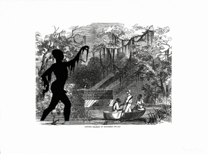 Cotton Hoards in Southern Swamp, from the portfolio Harper's Pictorial History of the Civil War (Annotated)