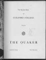The Quaker, 1952
