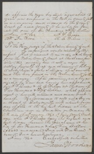 Court documents relating to the sale of runaway slave: Dick, belonging to John Rizer and John S. Dixon of Louisville, Nelson County, Ky., purchased by John F. Queen for $265