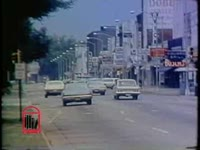 WSB-TV newsfilm clip of mayor J. R. Allen announcing a curfew in Columbus, Georgia, 1971 July 28