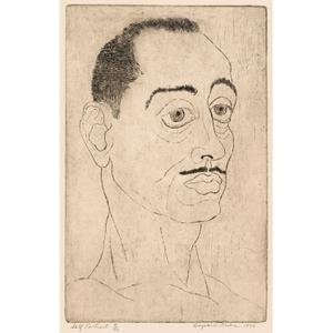 Hayward Oubre Self-Portrait