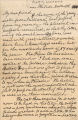 Letter from Lucretia Mott to May Wright Sewall