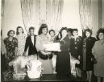 Marian Anderson with Alpha Kappa Alpha Sorority Members at the Pyramid Club