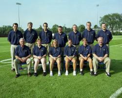 Athletic Medicine Staff, UM Football, 1998/99