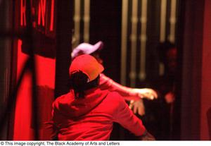 [Performers dancing on stage] Hip Hop Broadway: The Musical