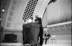 Martin Luther King, Hill Auditorium, November 5, 1962