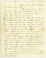 Correspondence from Joseph Gerald Branch to Mary Jones (Polk) Branch, January 28, 1864