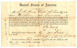 Oath of Allegiance for Corporal J. M. Morey of the 32nd Regiment, Tennessee Infantry