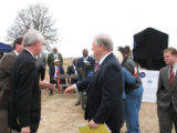 Holly Ridge Cemetery: Governor Barbour and Allan Hammond