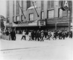 [Crowd on their way to the NAACP 34th Annual Conference at the Olympia Theater, Detroit, Mich.]