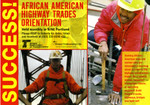African American Highway Trades Orientation flyer