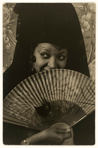 Photographic print of Ethel Waters as Carmen