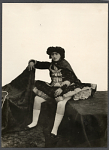 Thumbnail for Portrait of Young Woman in Elaborate Costume [graphic]