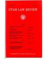 Utah Law Review 2000 Number 2