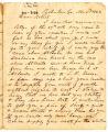 Correspondence from G. R. Rutledge to Robert Rutledge, November 2, 1863