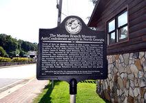 The Madden Branch Massacre historical marker