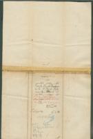 Voucher to 2nd Lieut. Darrell Lampman, 11th Michigan Infantry