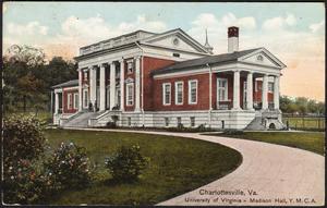Charlottesville, Va. University of Virginia - Madison Hall, Y.M.C.A