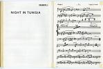 Night in Tunisia [for Trumpet I] music manuscript]