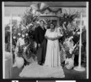 Hattie McDaniel at her wedding, circa 1931/1940, Los Angeles
