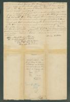 Voucher to Lieut and Adj. Morris B. Wells, 21st Michigan Infantry