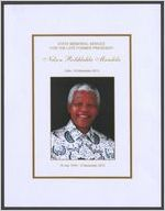 State memorial service for the late former president Nelson Rolihlahla Mandela, date: 10 December 2013, 18 July 1918-5 December 2013, Bishop Ivan Abrahams